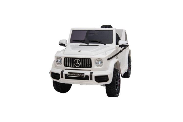 Witte elektrische Mercedes G63