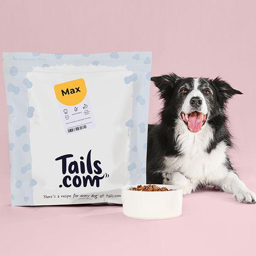1 maand hondenvoeding van tails.com