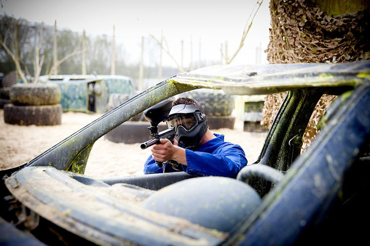 Indoor of outdoor paintball en airsoft in Assen (12 p.)