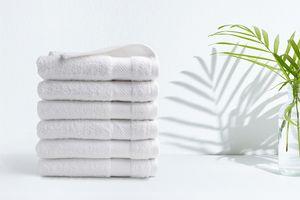 6 luxe handdoeken van hotelkwaliteit (50 x 100 cm)