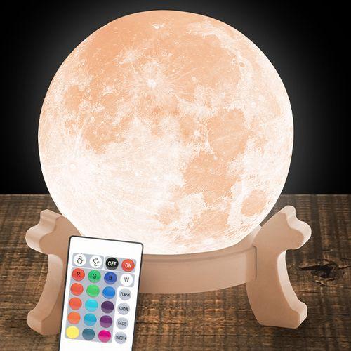 SlaJeSlag 3D-maanlamp