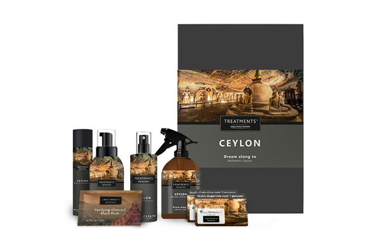 Korting Ceylon giftbox van TREATMENTS® plus gratis dagje wellness 2p