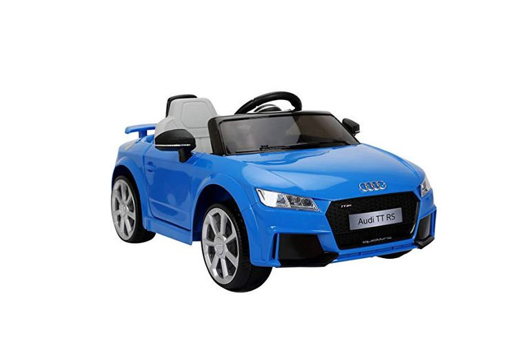 Audi Auto Blauw Elektrische Audi Met Afstandsbediening