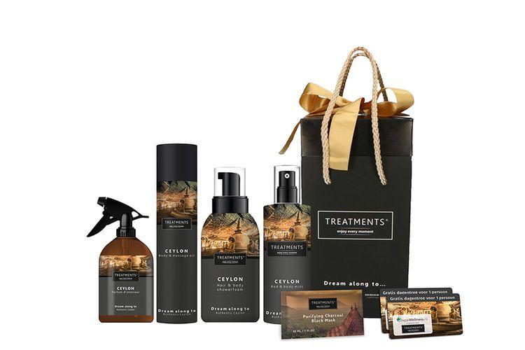Ceylon-giftbox van TREATMENTS� + gratis dagje wellness