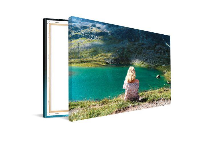 Jouw mooiste foto op een canvas (60 x 40 cm)