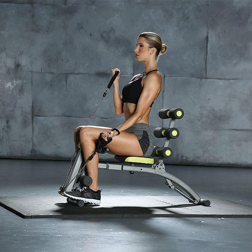 6-in-1 fitnessapparaat voor verschillende spiergroepen