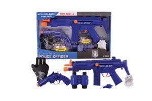 6-delige speelgoedset met politiethema