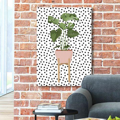 Exclusieve planten op canvas (40 x 60 cm)