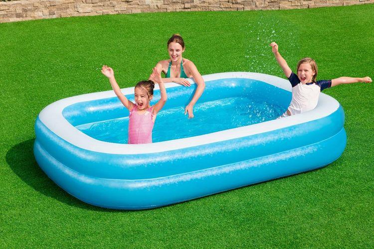 Bestway opblaasbaar zwembad (262 x 175 cm)