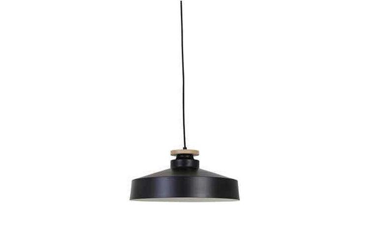 Hanglamp Fem van hout en metaal (� 40 cm)