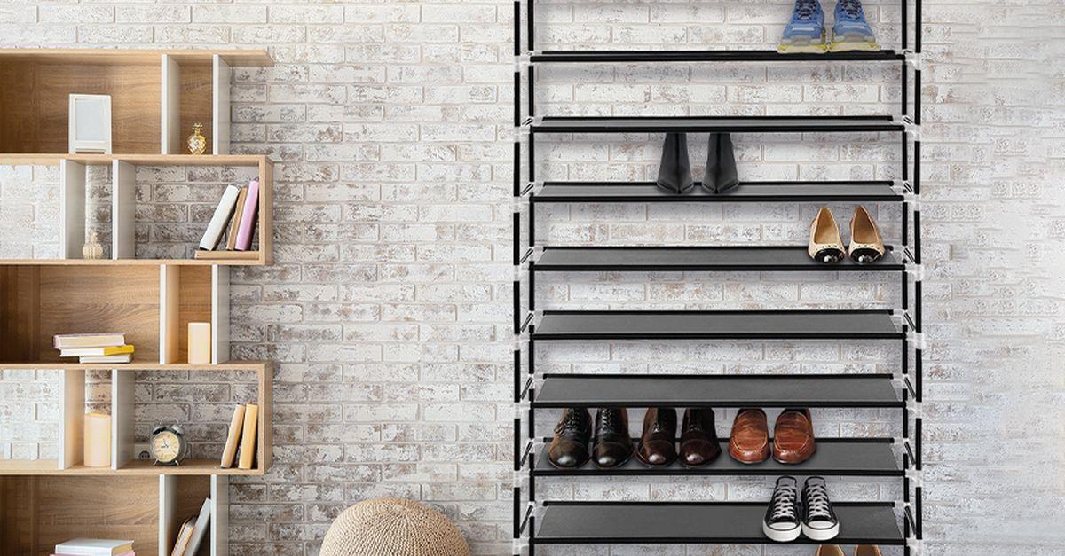 Étagère à chaussures à 10 niveaux