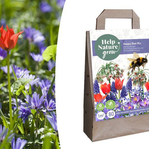 Mix van bijenvriendelijke bloembollen