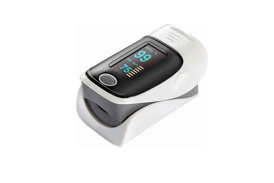 Hartslag- en saturatiemeter voor je vinger