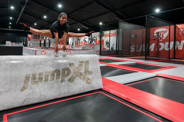 60 minuten jumpen bij Jump XL of Jumpsquare (2 p.)