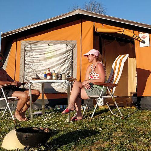 Week in Freecamp-tent