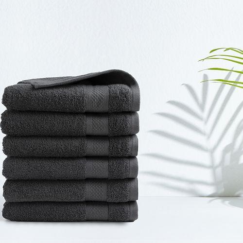 6 luxe handdoeken