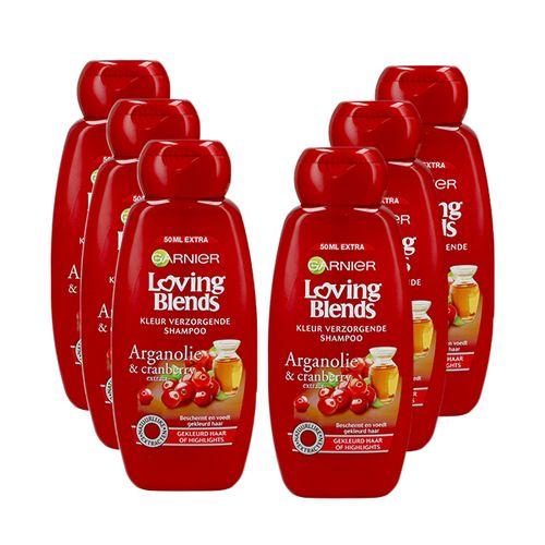 6 flessen shampoo van Garnier (300 ml)