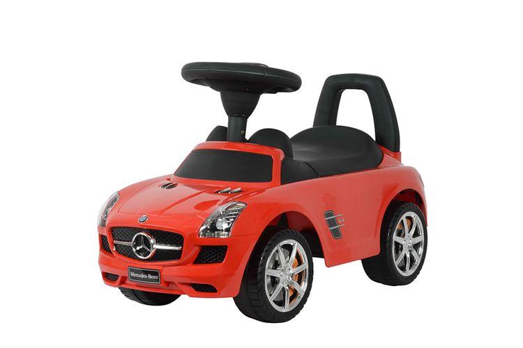 Mercedes-loopwagen (rood)