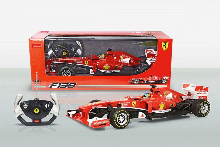 Bestuurbare F1 Ferrari-racewagen (42 cm)
