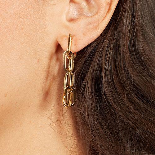 Schakel-oorbellen