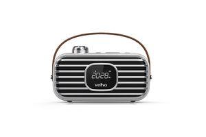 DAB radiowekker en bluetooth speaker van Veho
