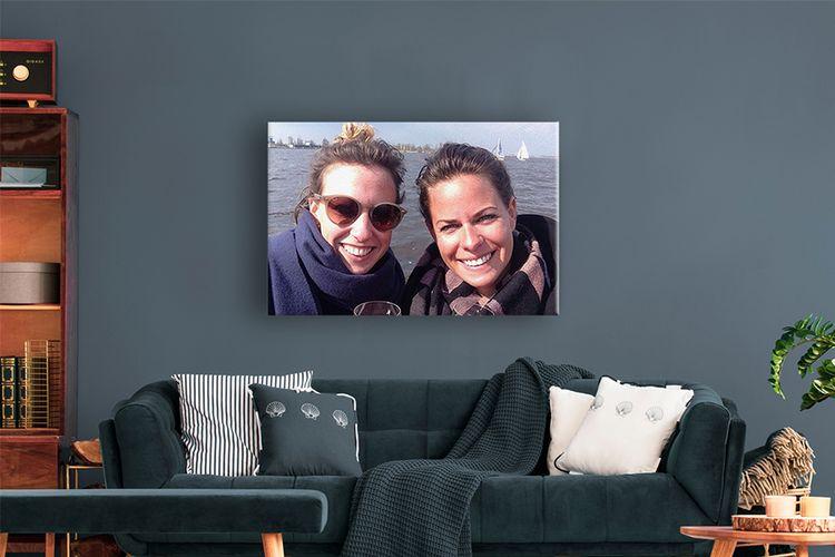 Jouw mooiste foto op canvas (60 x 40 cm)