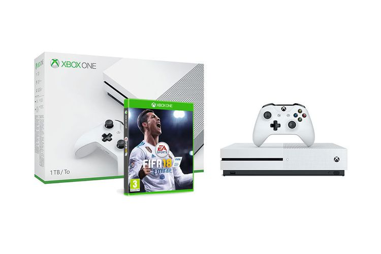 xbox one s fifa xbox one s 1 tb fifa 18 bied mee. Black Bedroom Furniture Sets. Home Design Ideas