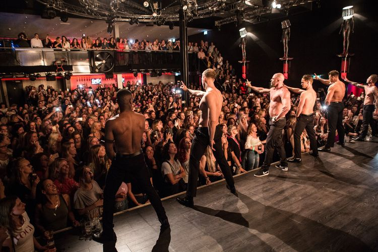 Ladies Night Candymen in Tilburg (2 p.)