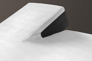 2 witte split-toppers (180 x 200 cm)