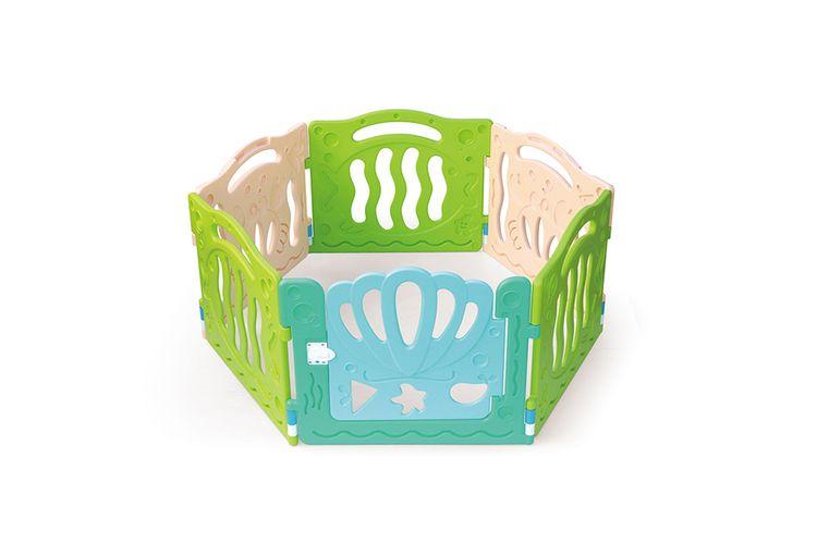 Kruipbox met veiligheidsslot (150 x 130 x 62,5 cm)