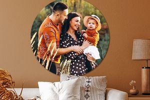 Jouw foto's op een muurcirkel (ø 50 x 0,5 cm)