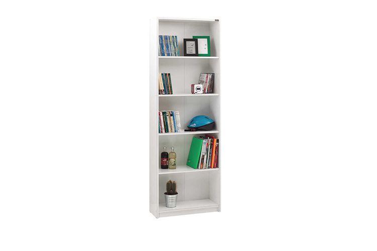 Witte boekenkast (170 cm hoog)