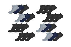 Set van 24 enkelsokken van Gianvaglia (maat 43 - 46)