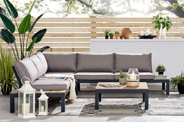 Aluminium loungeset van Feel Furniture (model: Palma)