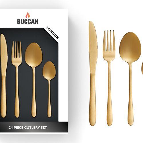 24-delige bestekset van Buccan
