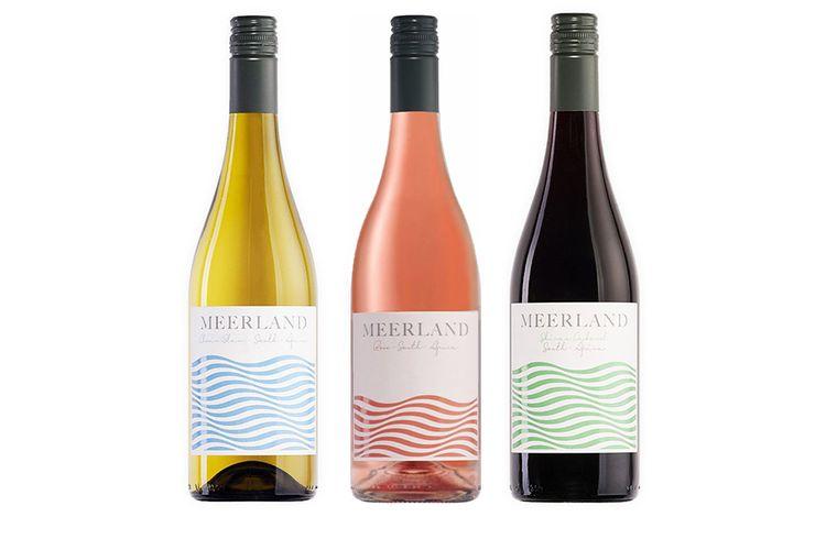 Korting Keuze uit 6 flessen wijn Meerland rosé, wit of rood
