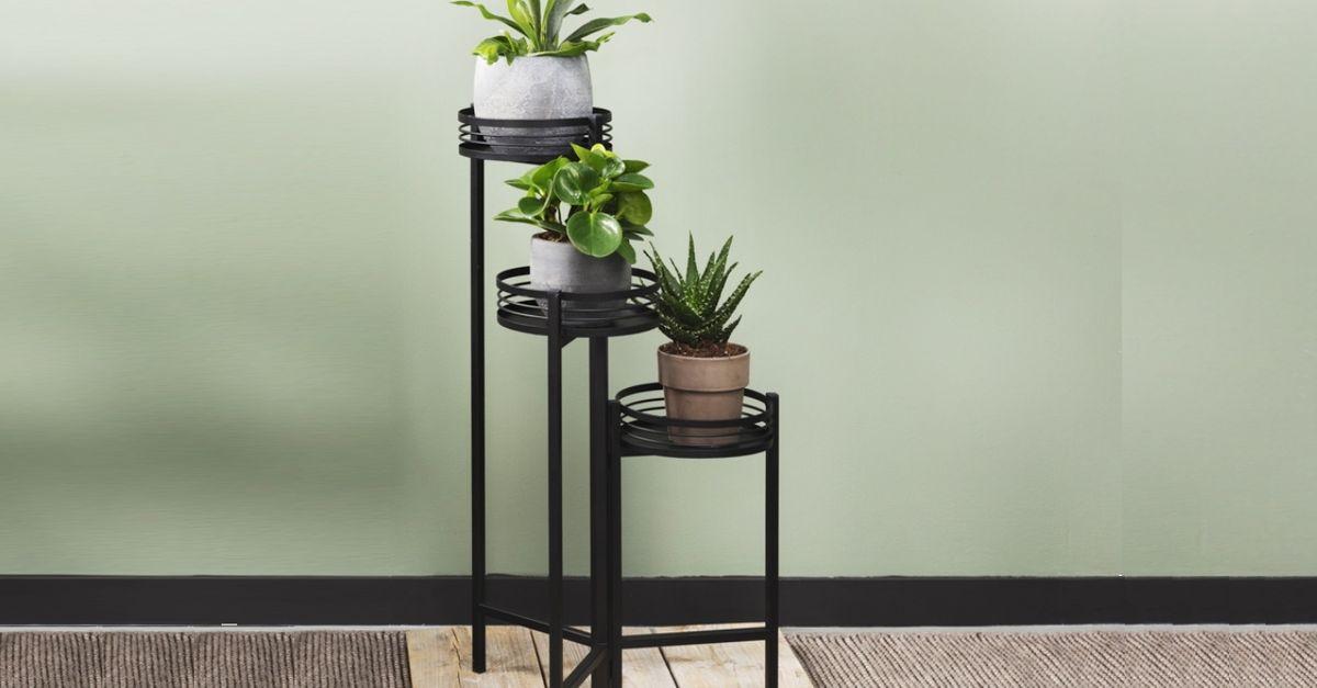 Tables à plantes 3 pièces Lifa Living (modèle : Azalea)