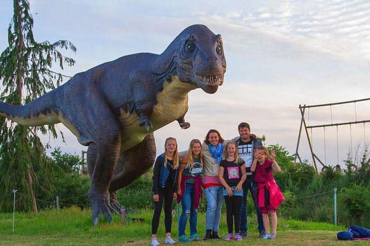 Tickets voor Dinopark Landgoed Tenaxx (4 p.)