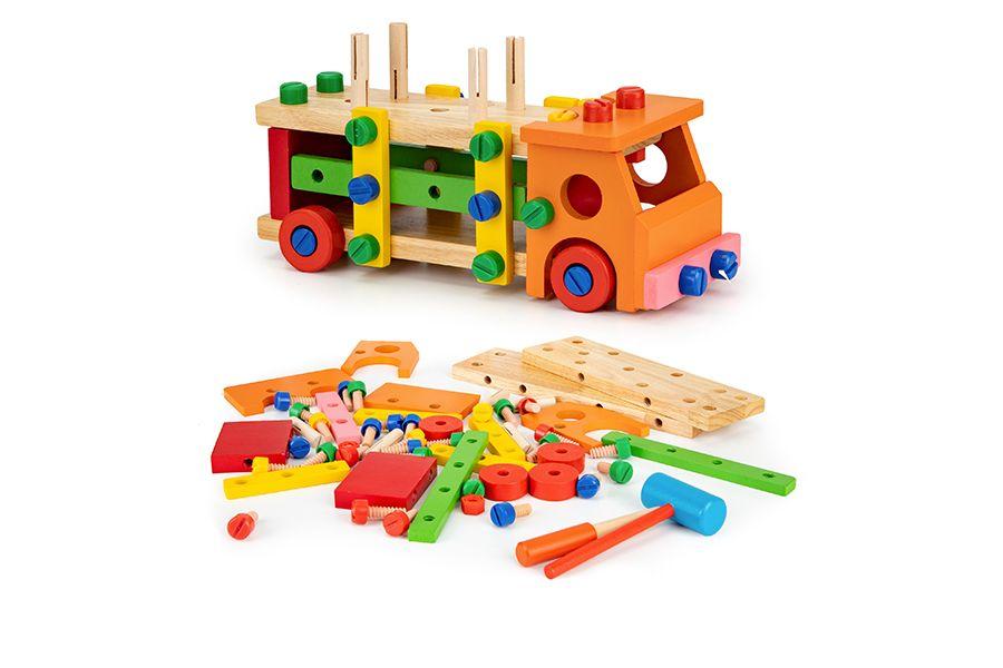 Constructiespeelgoed (58-delig)