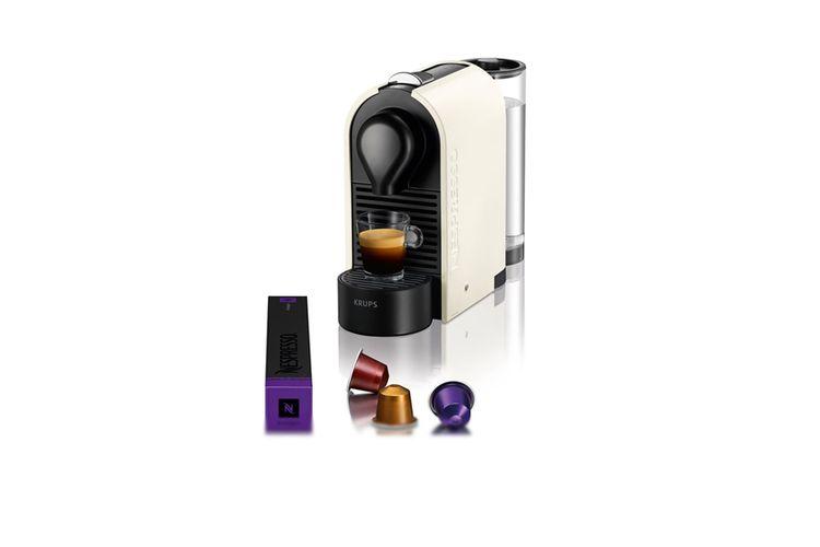 nespresso krups machine caf nespresso pure cream vavabid participez aux ench res. Black Bedroom Furniture Sets. Home Design Ideas