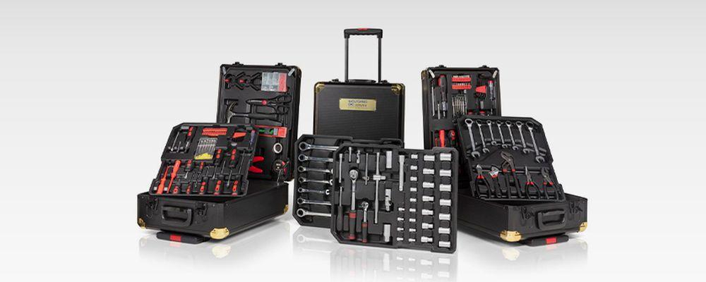 320-delige gereedschapskoffer van Wolfgang
