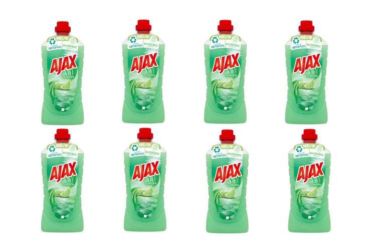 Korting 8 flessen Ajax All Purpose allesreiniger (8 x 1 L)