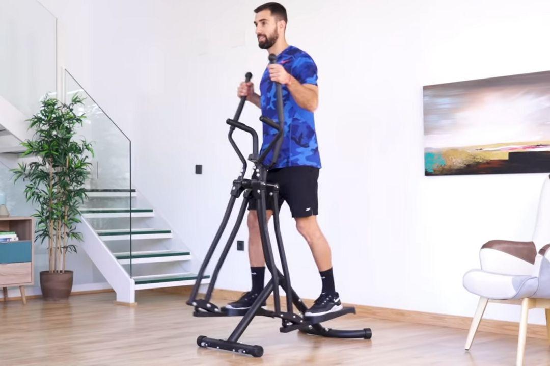 Multifunctionele crosstrainer voor cardio en kracht