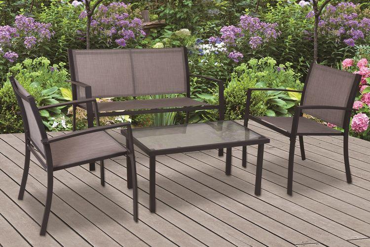 ProGarden 4-delige loungeset inclusief salontafel