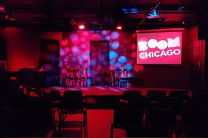 Boom Chicago topcomedy in Amsterdam! (2 p.)
