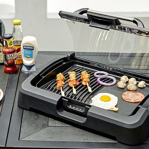 Buccan elektrische barbecue en gourmet (2-in-1)