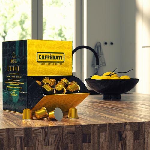 80 koffiecups van Caff�rati