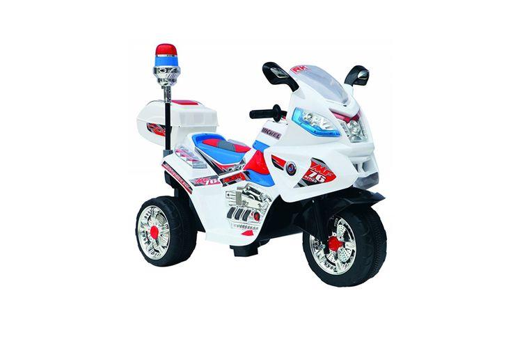 Gent Stoere politiemotor met sirene (driewieler)