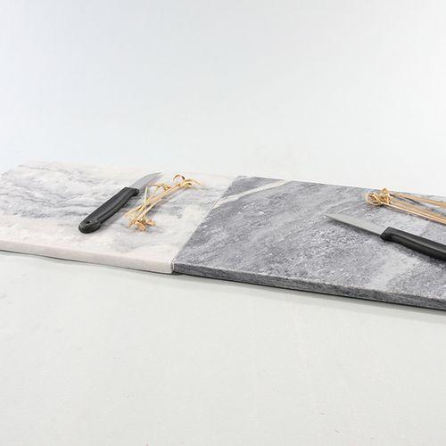 2 marmeren snijplanken (21 x 29 cm)