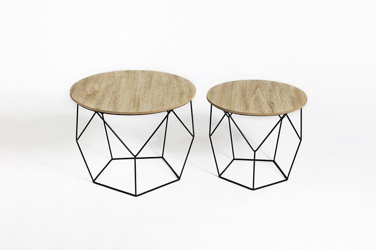 Lifa 2 Basses Living Geometrique Tables Forme L3A54Rj